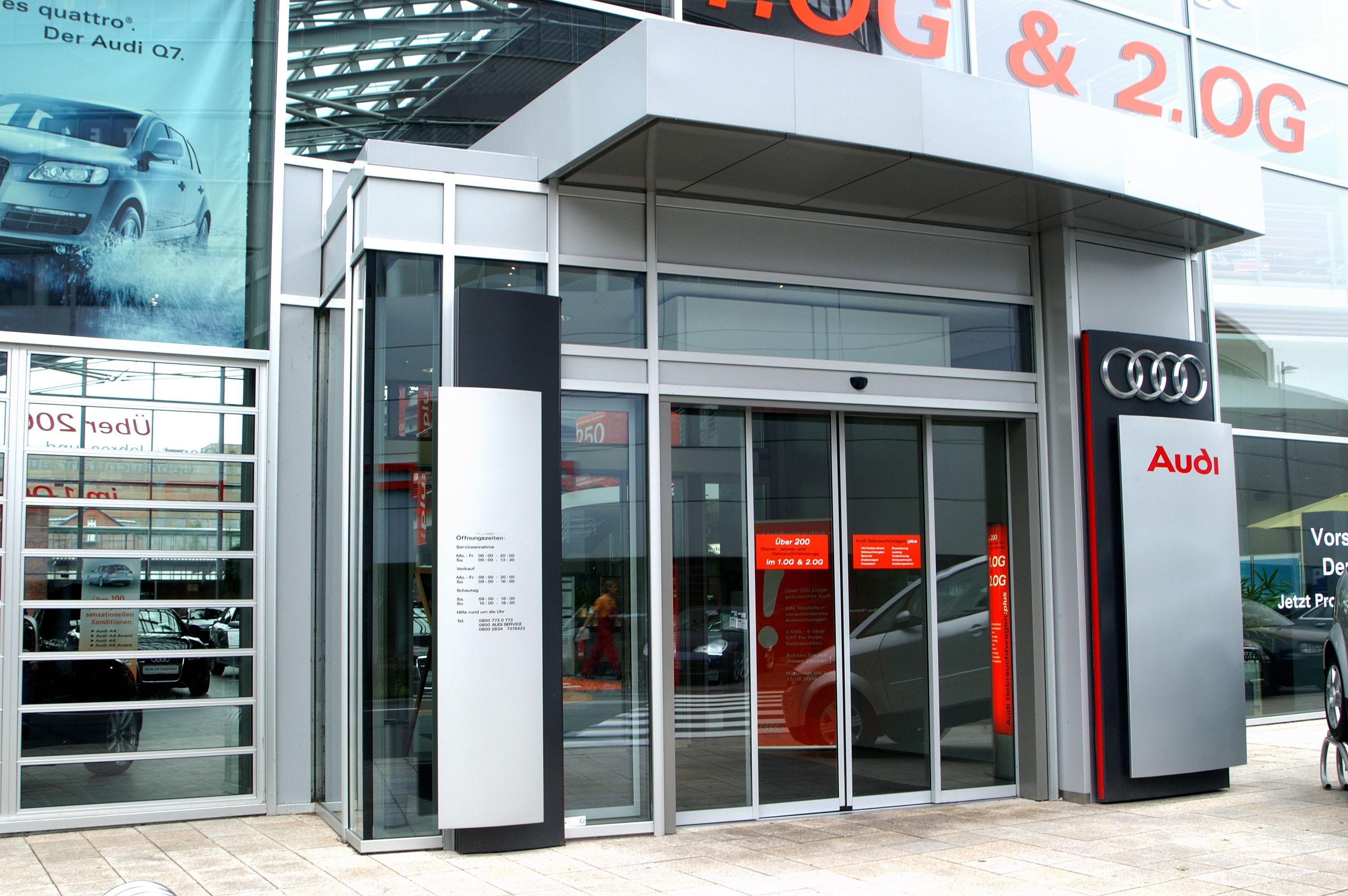 Audi Center Außenansicht